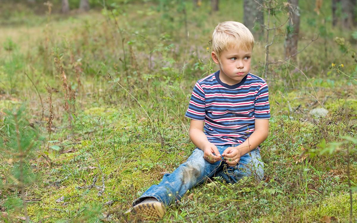 Мальчик заблудился